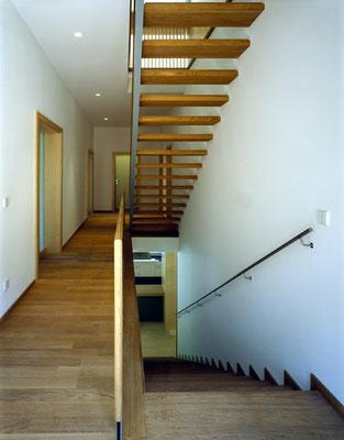 Treppe Obergeschoß / Foto © G. Zugmann