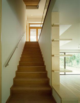 Treppe Erdgeschoß / Foto © G. Zugmann