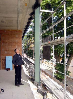 Prototyp Glasfassade - Foto © Knauer Architekten