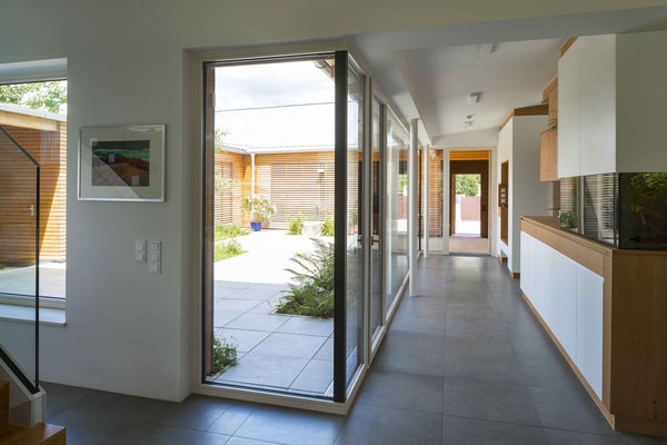 Atriumhaus im Weinviertel, Unterolberndorf-NÖ  - Foto © R. Steiner