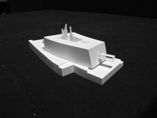 ISTA - Modell © KNAUER ARCHITEKTEN