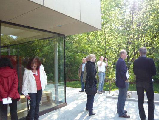 Baustellenvisite der Österr. Gesellschaft für Architektur (Ögfa) - Foto © Knauer Architekten