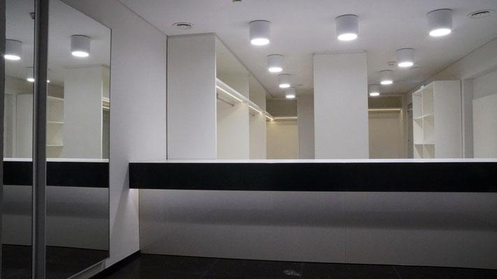 Garderobe für Festveranstaltungen - Foto © Knauer Architekten ZT