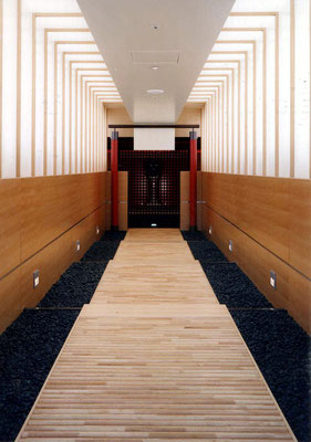 Veranstaltungszentrum Tokio-J, 1998-1999 - Foto © Knauer Architekten