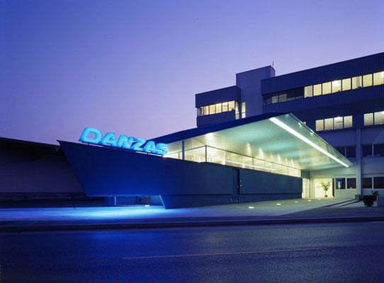 Umbau und Büroerweiterung der Logistigzentrale DHL/Danzas, Wiener Hafen-A, 2001-2002