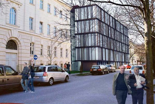 Umbau und Erweiterung Gerichtsgebäude St. Pölten-A, 2007