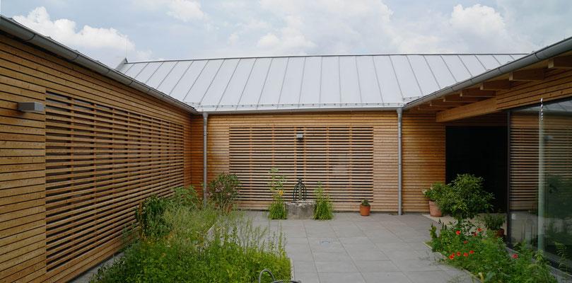 Atriumhaus, Unterolberndorf-AT, 2019-2020 - Foto © Knauer Architekten