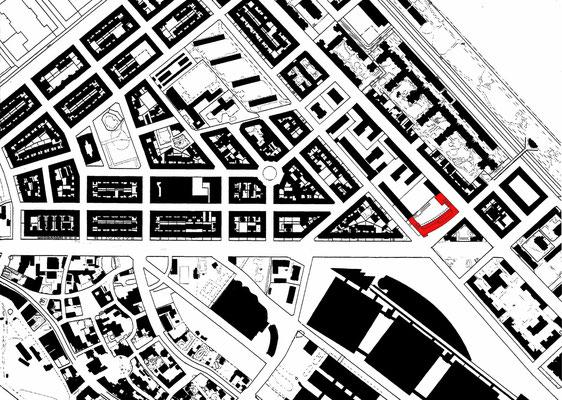 Städtischer Kontext