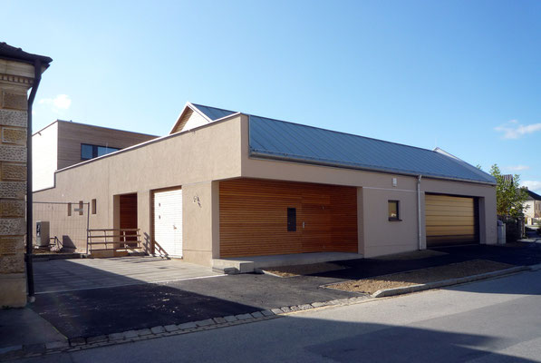 Atriumhaus Unterolberndorf-NÖ, Ansichten - Foto © KNAUER ARCHITEKTEN