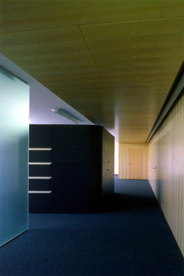 Büroumbau Fa. Cargomind, Wien-A, 2007 - Foto © Knauer Architekten