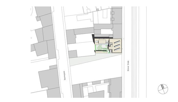 Lageplan - © KNAUER ARCHITEKTEN