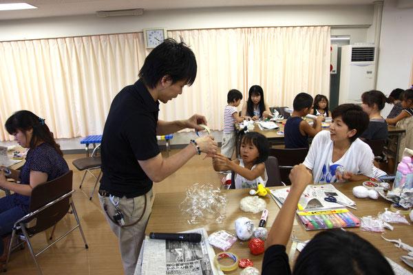 2012年 兵庫県立円山川公苑美術館 ワークショップ風景