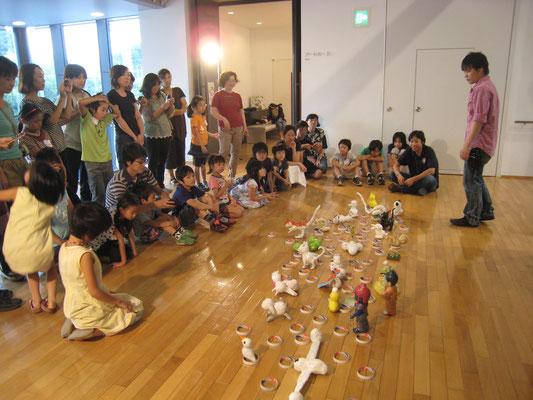 2012年 川越市立美術館 ワークショップ風景