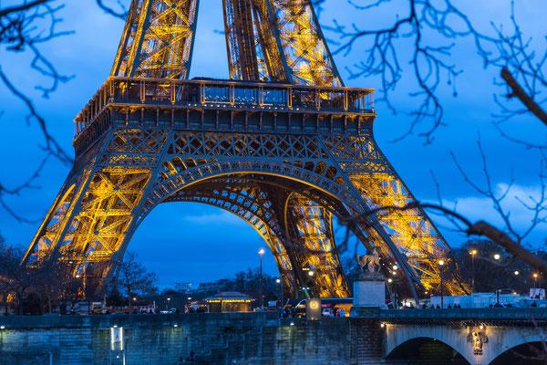 Eiffel Tower, Paris, France (Feb 2016)