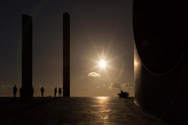 Fundação Champalimaud with View to Tagus River, Lisbon, Portugal (Nov 2017)
