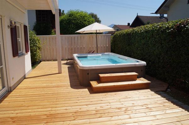 Artesian Spas Swim Spa mit EGO3 Filtern