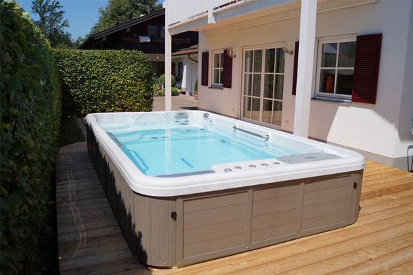 Filter reinigen für Swim Spas