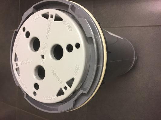 Whirlpool Filter EGO3 toploader weiß