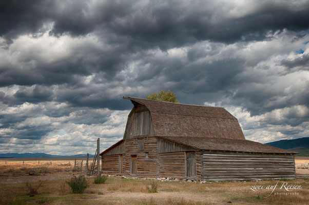 Mormon Row Barns, Wyoming