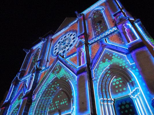 St Roch-Ecusson fête des lumières 2015 - photo JM Quiesse