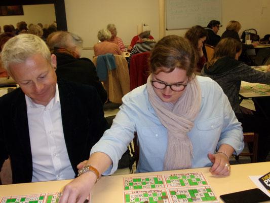 Maud Bodkin et Jérémie Malek Loto 2016 Comité de quartier st Roch-Ecusson - photo JM Quiesse