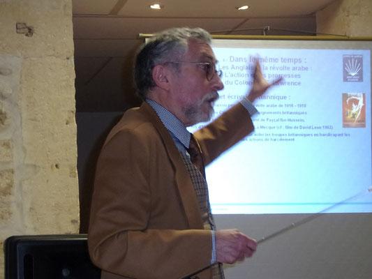 Hatim Jaïbi-Riccardi - Conférence Montpeller 26 04 2017 - Comité de quartier st Roch-Ecusson- Photo JM Quiesse