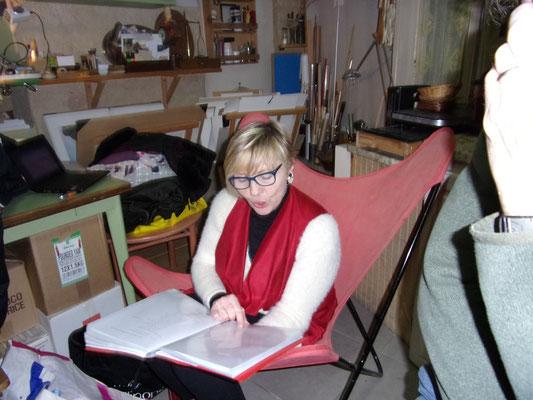 Janie Garcia - Comité de quartier st Roch-Ecusson Montpellier - printemps rue Roucher 2016