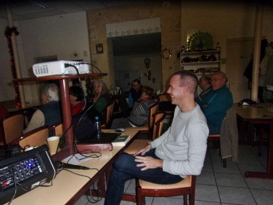 Jonathan Garrigues - 14 12 2019 - Conférence Libres animaux - Montpellier. Photo D. Ferré