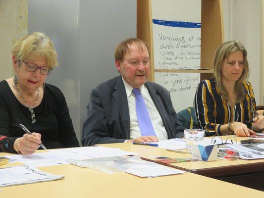 Geneviève Doumergue-Jean-Marie Quiesse-Laurenne Kocher- Comité de quartier st Roch-Ecusson de Montpellier - 24 janvier 2020