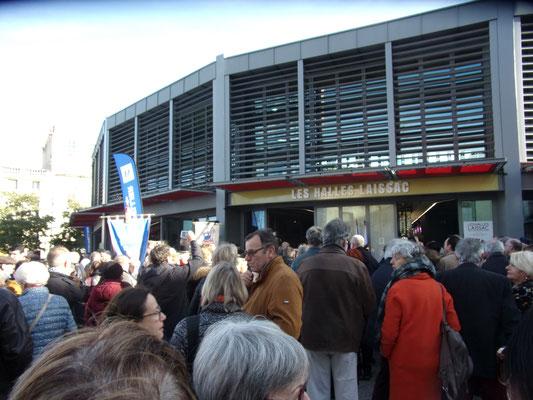Comite de quartier st Roch-Ecusson - Nouvelles halles Laissac-1 12 2018 - photo JM Quiesse