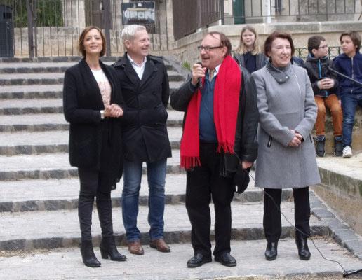 St Roch-Ecusson- Montpellier -Habiba Houamed - Jérémie Malek - Jean-Marie Quiesse - Nicole Liza - mars 2017 - photo D. Ferré