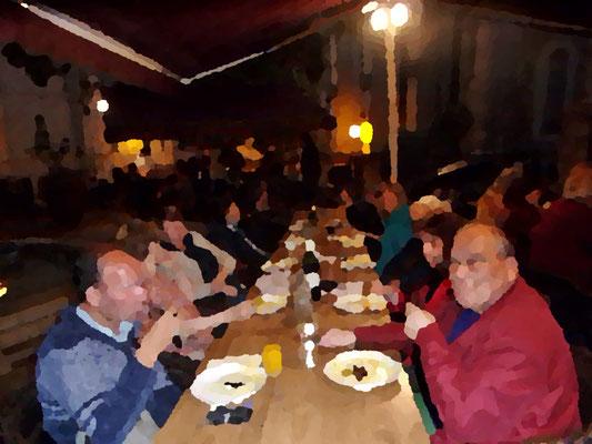 Repas annuel - Comité de quartier st Roch-Ecusson - 14 06 2019