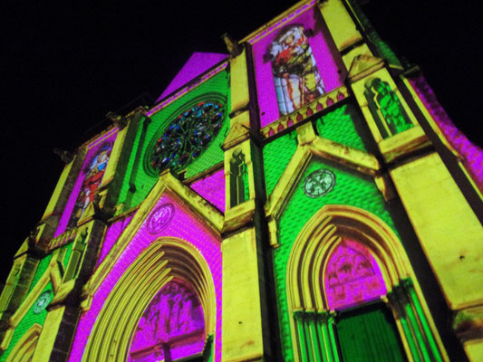 Comite de quartier St Roch-Ecusson - fête des lumières 2015 - photo JM Quiesse