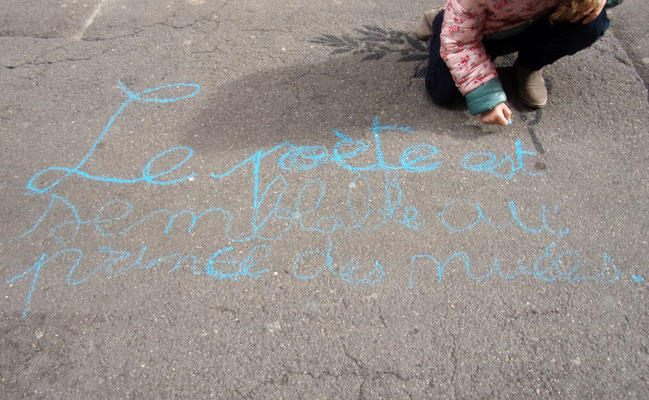 Comité de quartier st Roch-Ecusson - montpellier - Printemps de la rue Roucher et des Poètes - 9 mars 2016