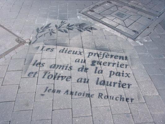 Montpellier rue Roucher 2016- Photo JM Quiesse