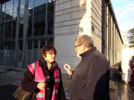 Comité de quartier st Roch-Ecusson -Luc Albernhe - Valérie Barthas-Orsal  11 2016 photo JM Quiesse