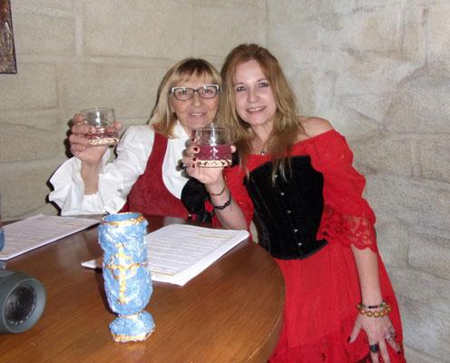 Autour de Bacchus - 15 mars 2019 - Janie Garcia et Aline Munier