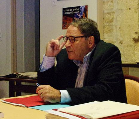Photo Jean Marie Quiesse- Quartier st Roch-Ecusson-Montpellier-Jacques Martin 2015