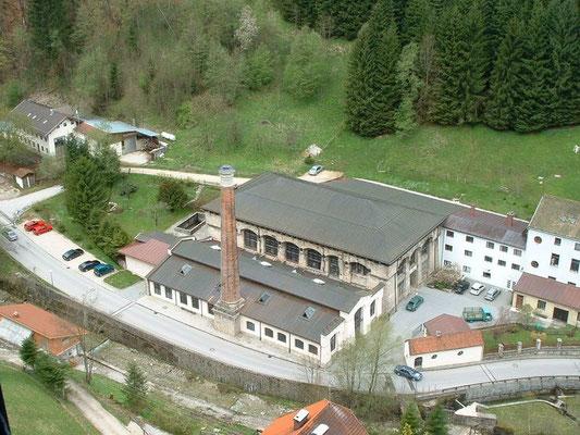 Maxhütte Luftbild