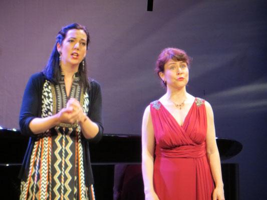 Muriel Fankhauser-Sopran u.Marina Viotti Mezzospran