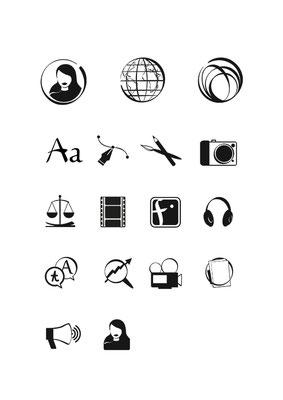 Icons für www.content-queens.com