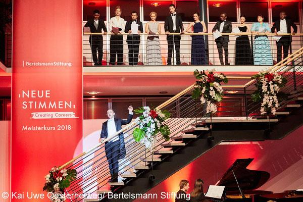 Neue Stimmen Meisterkurs - Abschlusskonzert 2018