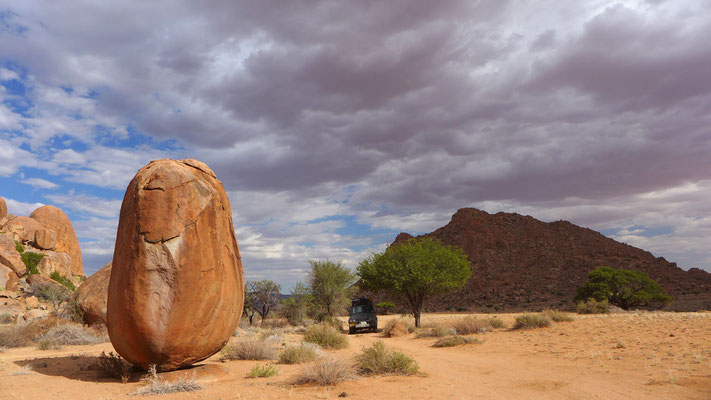 Das berühmte Ei von Alt-Tiras