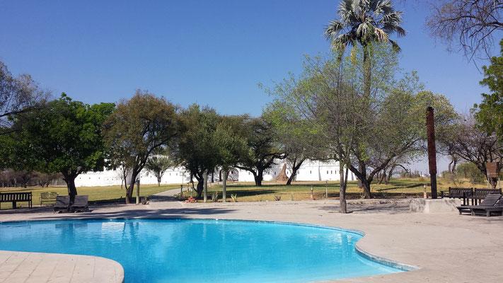 Namutoni Camp, Etosha