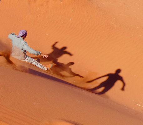 Im großen Sandkasten