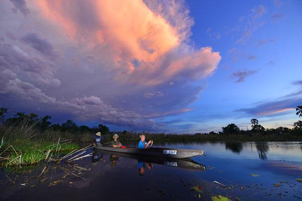 Mokoro-Tour, Okavango BOT