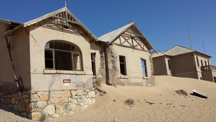 Das Lehrerhaus in Kolmanskop