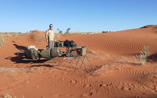 Unser Namib-Schalfzimmer