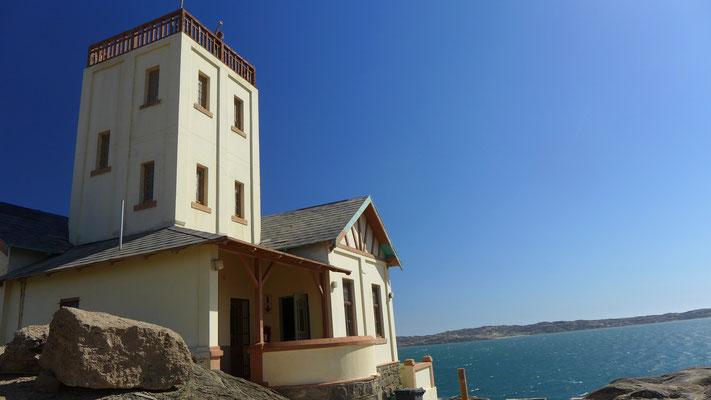 Leuchtturmwärterhaus in Lüderitz