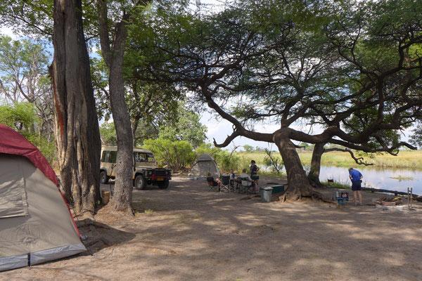 Camping am Kwando